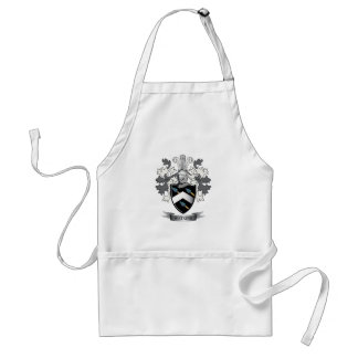 Watkins Family Crest Coat of Arms Standard Apron