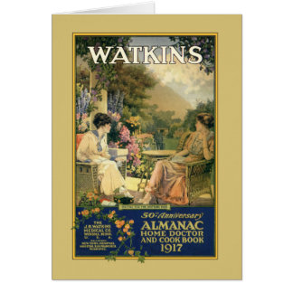 Watkins Ladies in the Garden Card