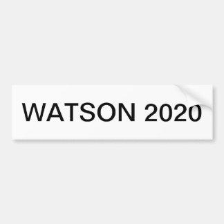 WATSON 2020 BUMPER STICKER