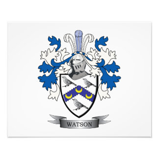 Watson Coat of Arms Photograph