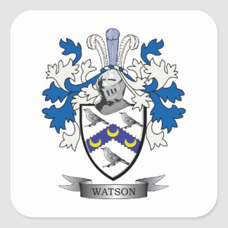 Watson Coat of Arms Square Sticker