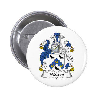 Watson Family Crest 6 Cm Round Badge