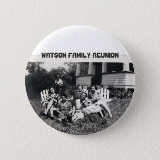 Watson Family Reunion 6 Cm Round Badge