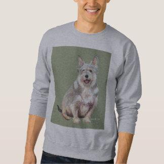 watson on gray sweatshirt