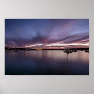 Watson's Bay Australia Sunset Poster