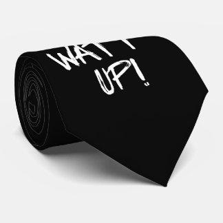 Watt Up! Science Humor Tie