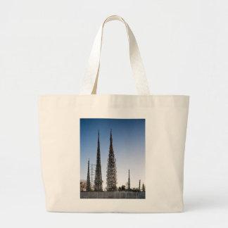 Watts Towers Los Angeles Jumbo Tote Bag