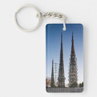 Watts Towers Los Angeles Key Ring