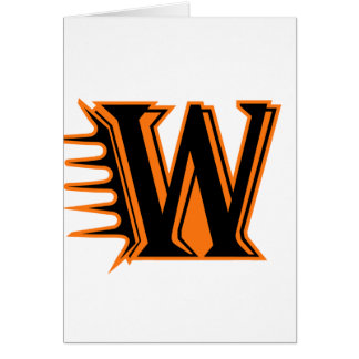 Wautoma Hornets Motion W Greeting Card