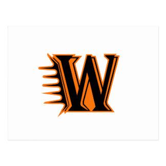 Wautoma Hornets Motion W Postcard