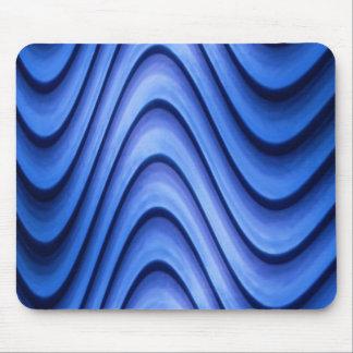 wave 3d digital art mouse pad