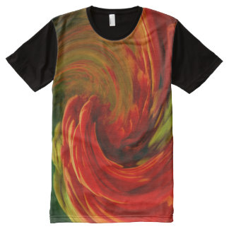 Wave All-Over Print T-Shirt