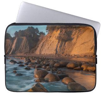 Wave along the beach, California Laptop Sleeve