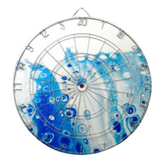 Wave And Bubbles Dartboard