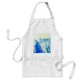 Wave And Bubbles Standard Apron