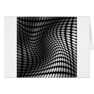 wave background greeting card