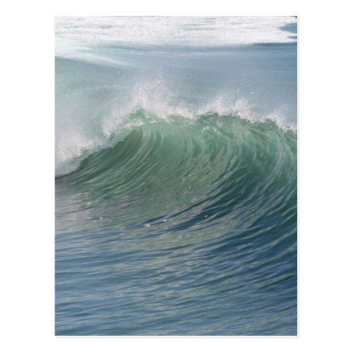 Wave break postcard
