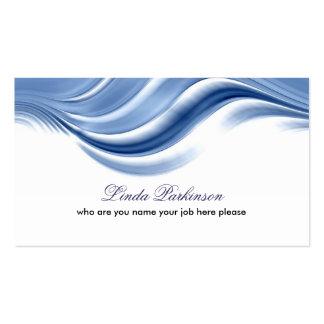wave business card design standard business cards