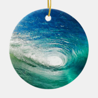 Wave Ceramic Ornament