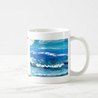 Wave Dance Designer Products Basic White Mug