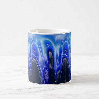 Wave, Designs By Che Dean Basic White Mug