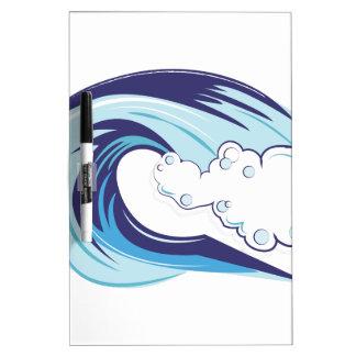 Wave Dry-Erase Board