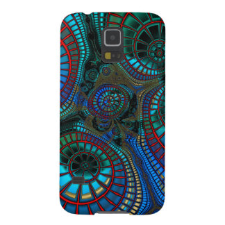 """wave"" Fractal Abstract Galaxy S5 Covers"
