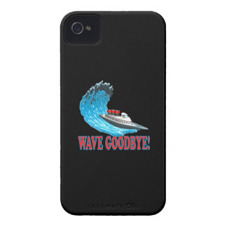 Wave Goodbye iPhone 4 Covers