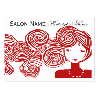 Wave Hair Fantasy Business Cards