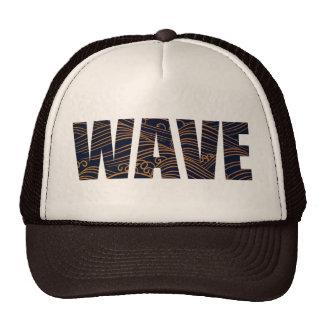 WAVE MESH HAT