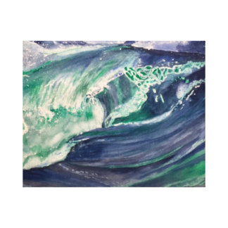 Wave III Canvas Print