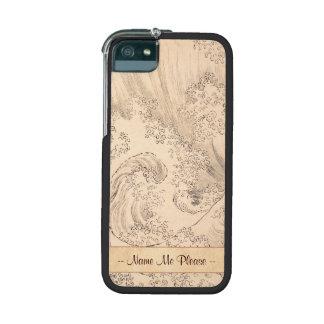 Wave Katsushika Hokusai  vintage waterscape art Cover For iPhone 5