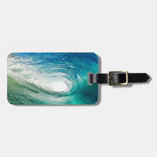 Wave Luggage Tag
