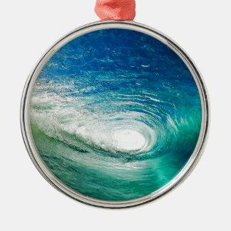 Wave Metal Ornament