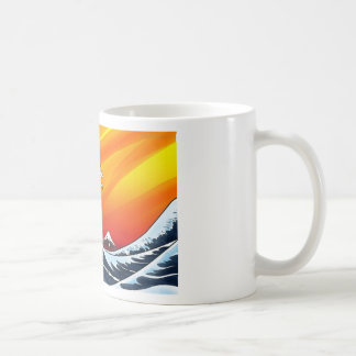 WAVE COFFEE MUG