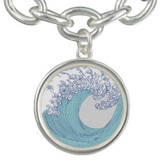 Wave Ocean Surf Art Print Asian Japanese