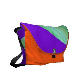 Wave of Color Rickshaw Messenger Bag