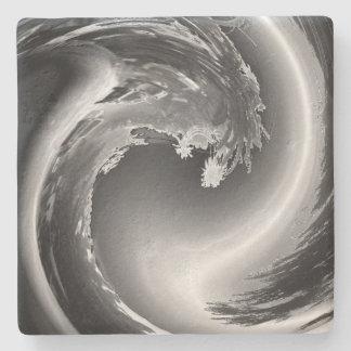 Wave of Gray Stone Coaster