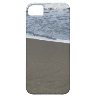 Wave of the sea on the sand beach iPhone 5 case