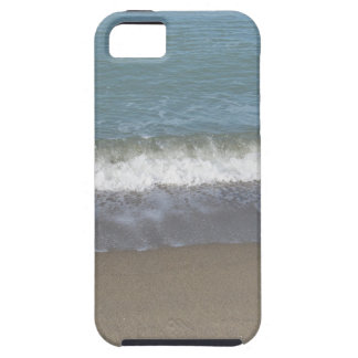Wave of the sea on the sand beach iPhone 5 covers