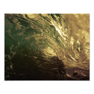 wave photo print wall art