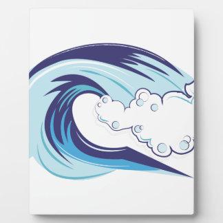 Wave Plaque