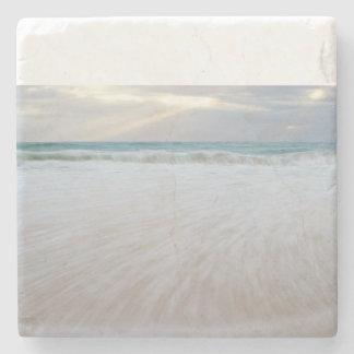 Wave Print Stone Coaster