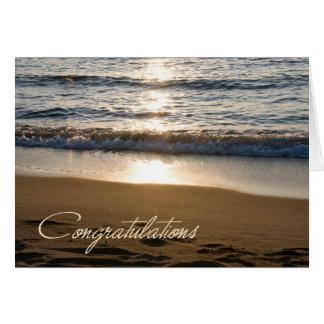 Wave Retirement Congratulations Card