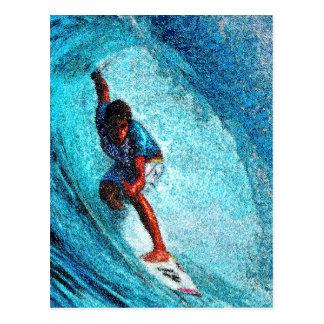 WAVE RIDER POSTCARD