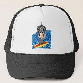 Wave riding king English story Shonan coast Trucker Hat