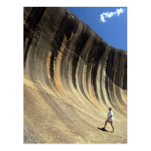 Wave Rock, Western Australia Postcard