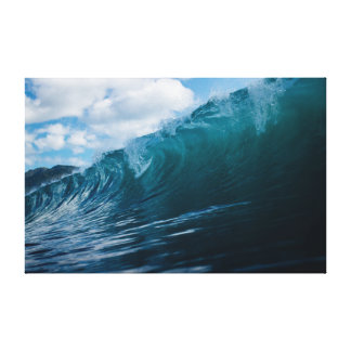 Wave | Sky | Sea | Ocean Canvas Print