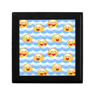 Wave smiley gift box