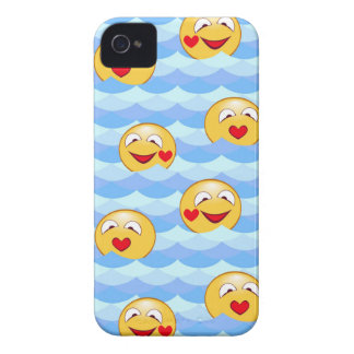 Wave smiley iPhone 4 Case-Mate cases